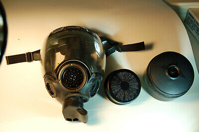 MSA Millennium 40mm NATO  Riot Control Gas Mask Only Size large Kit