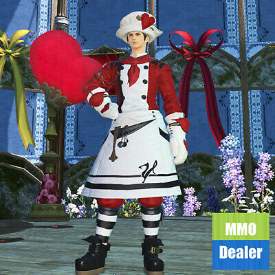 FFXIV Valentione Apron Attire | FF14 Seasonal | Mog Station | FINAL FANTASY XIV
