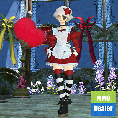 FFXIV Valentione Apron Dress Attire | FF14 Seasonal  | FINAL FANTASY XIV