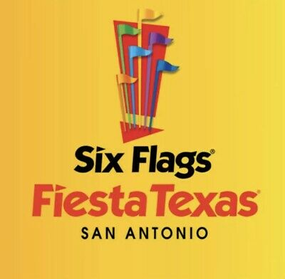 Four (4) Six Flags Theme Park Tickets Adult or Child Expire 9/8/19