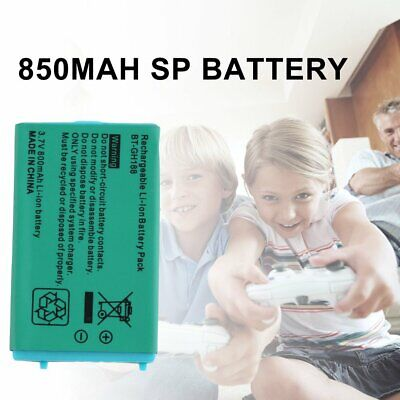 3.7V 850 mAh Rechargeable Battery for Nintendo for Game Boy Advance SP SystemsWQ