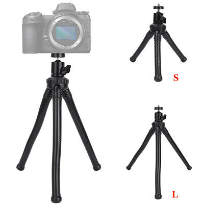 360 Degree Rotation Flexible Tripod Stand Mount Holder Octopus For GoPro Camera