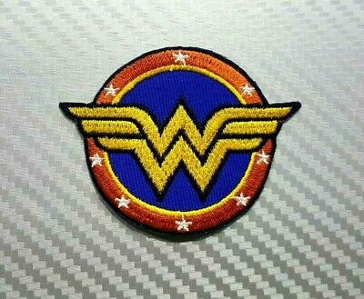 Wonder Woman Standing Embroidered Iron On Patch DC Comics Superhero Girl 151-Y