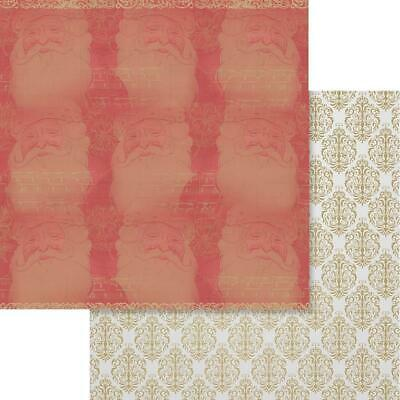 """Couture Creations - NAUGHTY OR NICE 9 - 12x12"""" d/sided scrapbooking paper"""