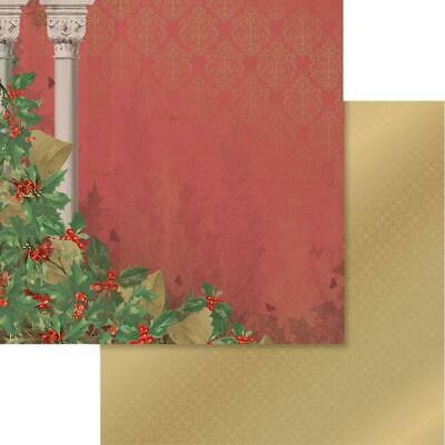 """Couture Creations - NAUGHTY OR NICE 8 - 12x12"""" d/sided scrapbooking paper"""