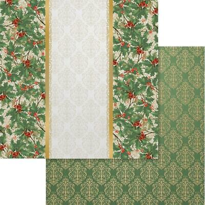 """Couture Creations - NAUGHTY OR NICE 6 - 12x12"""" d/sided scrapbooking paper"""