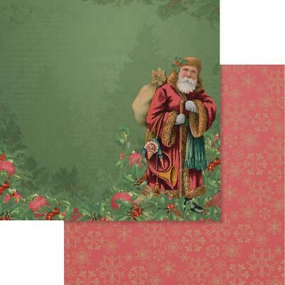 """Couture Creations - NAUGHTY OR NICE 5 - 12x12"""" d/sided scrapbooking paper"""