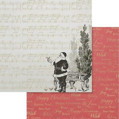 """Couture Creations - NAUGHTY OR NICE 2 - 12x12"""" d/sided scrapbooking paper"""