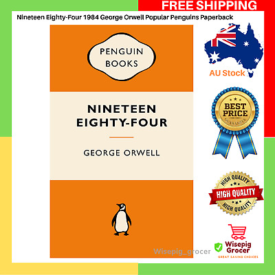 Nineteen Eighty-Four 1984 George Orwell Popular Penguins Paperback NEW Free Ship