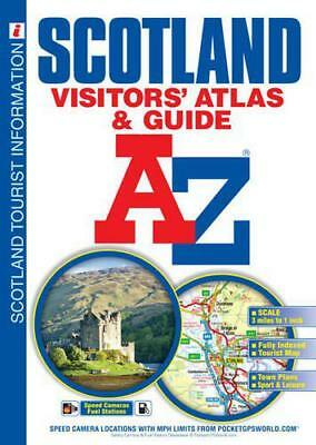 A-Z Scotland Visitors Atlas and Guide (A-Z Premier Street Maps) by Geographers A
