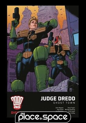 Judge Dredd Ghost Town 2000 Ad Digest - Softcover
