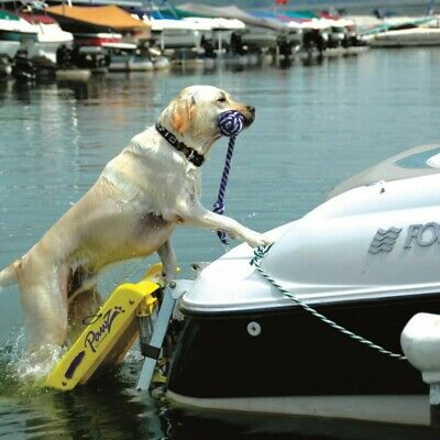 Pawz Pet Products Doggy Dog Boat Water Safety Ladder