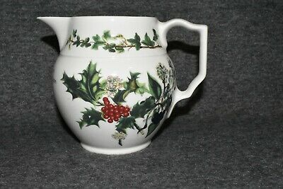 Portmeirion the Holly and the Ivy Jug