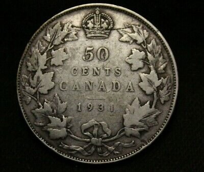 Canada 50 Cents 1931