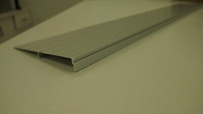 Aluminium door transition threshold ramp wedge 1:8 19mm x 150mm x various