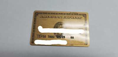 American Express Expired Credit Card