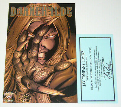 Dreams of the Darkchylde #6 VF/NM platinum edition w/COA (limited to 1,000)