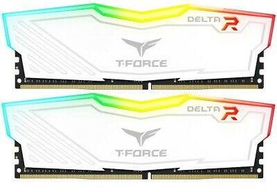 2x8GB Team T-Force Delta II RGB 2666MHz DDR4 Gaming RAM