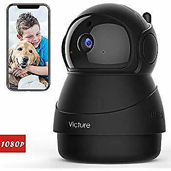 Victure 1080P FHD WiFi IP Camera Indoor Wireless Security Motion Detection...