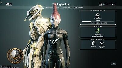 WARFRAME AUGMENT MODS Set Maxed For A Selected Warframe (PS4