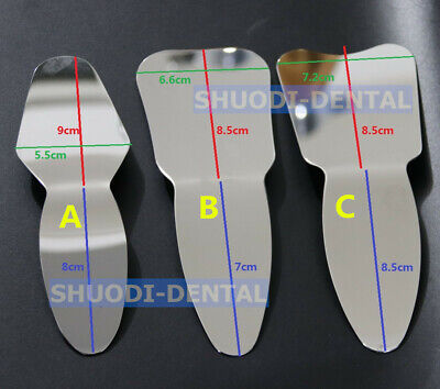 Dental Orthodontic Autoclavable Oral Clinic Photographic Mirror Stainless Steel