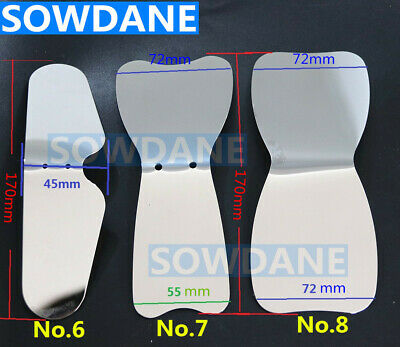 Dental Autoclavable Oral Clinic Photographic Mirror Stainless Steel Double sides