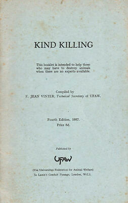 Kind killing by F Jean Vinter