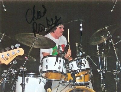 """TEN YEARS AFTER genuine autograph four signed 5""""x7"""" photos IN PERSON UK ROCK"""