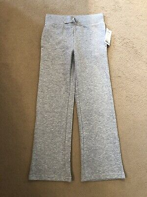 New Grey Bottoms 8-9 Years Jogging Relaxing Trousers And Floral Tshirt 9-10 VGC
