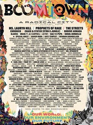 2 x Boomtown Festival TicketsAnd Wednesday Entry With Manchester Coach Transfer