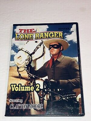 The Lone Ranger Volume 2 (DVD, 2004) NEW Clayton Moore 11L
