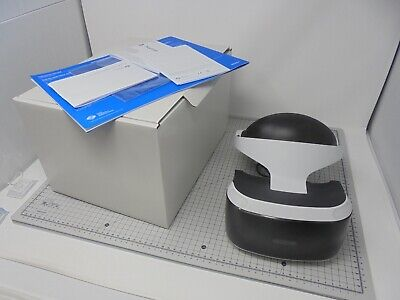 PSVR - Sony PlayStation Virtual Reality VR HEADSET ONLY - Vol 1 PS VR - UVRV1