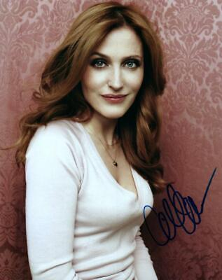 Gillian Anderson signed 8x10 Picture Photo autographed includes COA