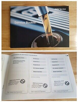 Bmw Service History Book New (Stamped) Suitable For All Models Petrol & Diesel