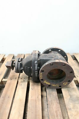 Kennedy 10241 Iron Flanged 6in Wedge Gate Valve