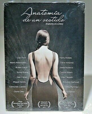 NEW Anatomia de un vestido Anatomy of a Dress (DVD 2015) Hard To Find SHIPS FREE