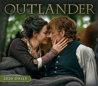 Outlander 2020 Day-to-day Calendar by Starz Paperback Book Free Shipping!