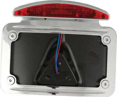 Harddrive LIceNSE plate frame CurveD horizontal half MOON LED _P28-6808