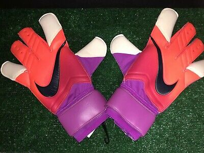 Nike Gk Vapor Grip 3 Promo Soccer Goalkeeper Gloves Pgs226-868 Size 12 Grape