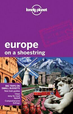 LONELY PLANET USED Europe On A Shoestring Travel Guide Book Aus