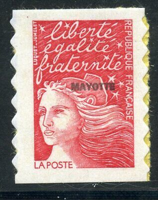 Stamp // Timbre Mayotte // Neuf Issus De Carnet  N° 61A ** Marianne