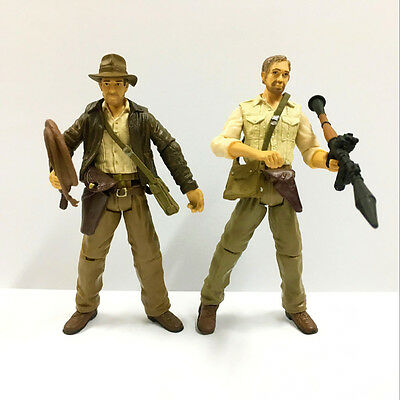 Lot Movie Toys Indiana Jones Raiders of the Lost Ark 3.75in Action Figure