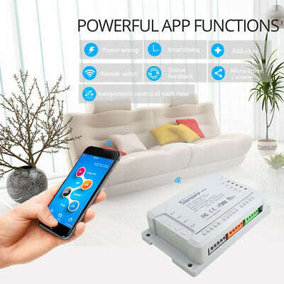Quality SONOFF 4CH R2 Multi-channel Smart Switch For Amazon Google IFTTT Series