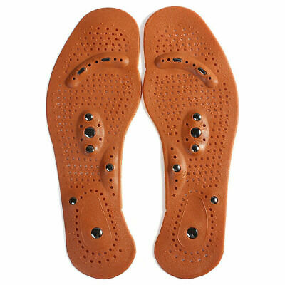 MindInSole Acupressure Magnetic Massage Weight Loss Slimming Insoles Therap H5I3