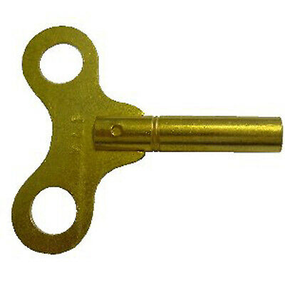 STANDARD CLOCK KEY BRASS 3.25mm