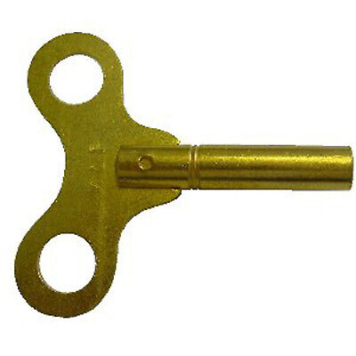 STANDARD CLOCK KEY BRASS 3.00mm