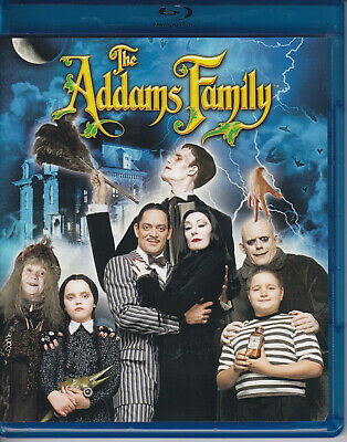 The ADDAMS FAMILY......BLU-RAY