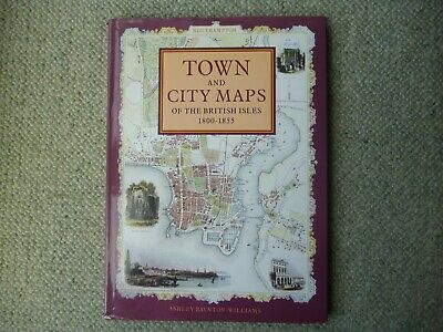 Town and City Maps of British Isles book 1800-1855