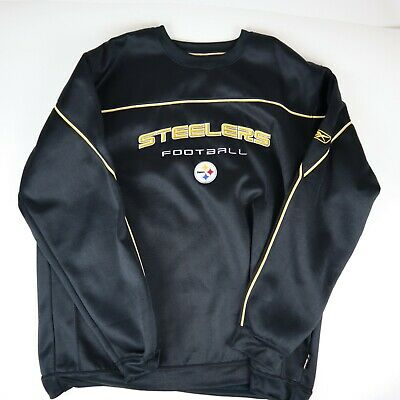 3cfc729d NFL GAMEDAY VARSITY style wool and faux leather PITTSBURGH STEELERS ...