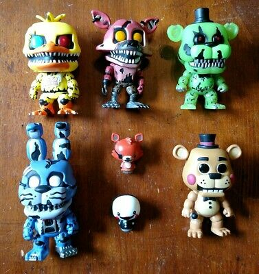 Five Nights At Freddys Funko Pop Figure Lot
